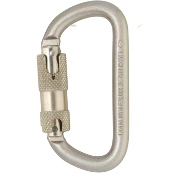 10mm Equal D Steel Quicklock Karabiner