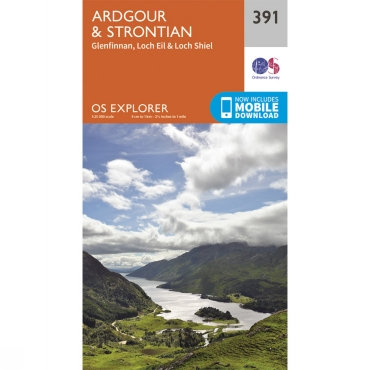 Explorer Map 391 Ardgour and Strontian