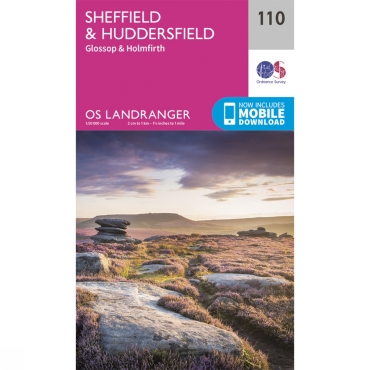 Landranger Map 110 Sheffield and Huddersfield