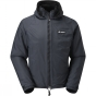 Buffalo Mens Hooded Belay Jacket Black