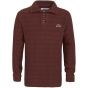 Product image of Weird Fish Mens Paulo Macaroni Jumper Chilli Red