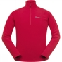Product image of Berghaus Mens Thirlmere 1/4 Zip Fleece Extrem Red