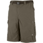 Columbia Mens Silver Ridge Cargo Shorts Tusk