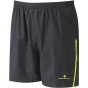 Product image of Ronhill Mens Vizion Shorts Black / Fluro Yellow