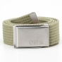 Product image of Fjallraven Mens Merano Canvas Belt Light Khaki