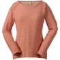 Product image of Weird Fish Womens Colette Slub Crew Top Peach Blossom