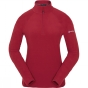 Product image of Berghaus Womens Thirlmere 1/4 Zip Fleece Rhubarb