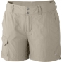 Columbia Womens Silver Ridge Shorts Fossil
