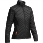 Icebreaker Womens Stratus Long Sleeve Zip Black/Monsoon 9963