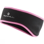 Product image of Ronhill Womens Run Headband Black/Fluo Pink