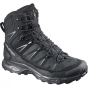 Salomon Mens X Ultra Trek GTX Boot Black/Black/Autobahn