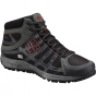 Columbia Mens Conspiracy III Mid Outdry Shoe Black / Intense Red