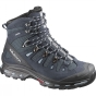 Salomon Womens Quest 4D 2 GTX Boot Deep Blue/Stone Blue/Light Onix