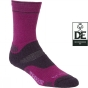 Product image of Bridgedale Womens WoolFusion Trekker Sock Berry/Plum