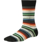 Product image of SmartWool Womens Margarita Sock Black / Multi Stripe