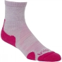 Product image of Bridgedale Womens Merino Light Hiker Sock Raspberry