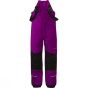 Product image of Bergans Kids Storm Insulated Salopettes Dark Heather Purple