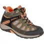Product image of Merrell Kids Chameleon Mid Lace Waterproof Boot Olive/Orange