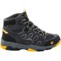 Jack Wolfskin Kids MTN Attack 2 Texapore Mid Boot Burly Yellow