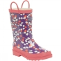 Regatta Kids Minnow Welly Purple Heart / Peach Bloom