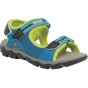 Regatta Kids Terrarock Sandal French Blue / Lime Punch