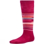 Product image of SmartWool Kids Wintersport Stripe Sock Persian Red