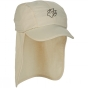 Product image of Jack Wolfskin Kids Supplex Sun Cap White Sands