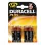 Product image of Duracell Plus AA 1.5V Battery x 4 .