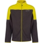 Product image of Dare 2 b Mens Outmode Fleece Ebony Grey / Neon Spring