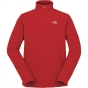 Product image of The North Face Mens Cornice 1/4 Zip Fleece Pompeian Red