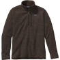 Product image of Patagonia Mens Better Sweater 1/4 Zip Fleece Dark Walnut