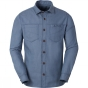 Vaude Mens Belluno Long Sleeve Shirt Washed Blue 9963