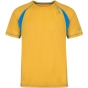 Regatta Mens Volito II T-Shirt Gold Heat / Hydro Blue