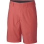 Columbia Mens Washed Out Shorts Sunset Red