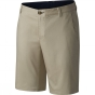Columbia Mens Harborside Chino Shorts Fossil / Collegiate Navy 9963