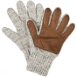 Product image of United By Blue Leather Palm Glove Oatmeal/Chesnut