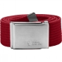 Product image of Fjallraven Mens Canvas Belt Deep Red
