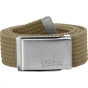 Product image of Fjallraven Mens Merano Canvas Belt Sand