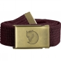 Product image of Fjallraven Canvas Brass Belt Dark Garnet