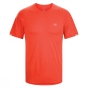 Product image of Arc'teryx Mens Cormac Short Sleeve Crew Cardinal