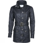 Brakeburn Womens Cotton Coated Jacket Black 9963