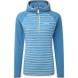Product image of Craghoppers Womens Sabine Half zip Bright Turquoise/Dove Grey