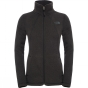 Product image of The North Face Womens Crescent Full Zip Fleece TNF Black Heather