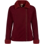 Product image of Regatta Womens Bernetta Jacket Mulberry/Cowhide