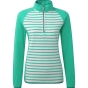Product image of Craghoppers Womens Tille Half Zip Spearmint/Dove Grey