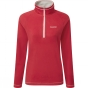 Product image of Craghoppers Womens Seline Half zip Fiesta Red
