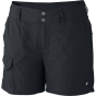 Columbia Womens Silver Ridge Shorts Black