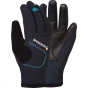 Product image of Montane Womens Windjammer Glove Black / Zanskar Blue