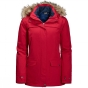 Jack Wolfskin Womens Rocky Shore 3in1 Parka Indian Red 9963