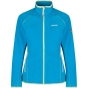 Regatta Womens Jomor Fleece Jacket Fluro Blue / Fluro Green